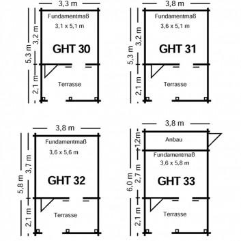 Blockhaus GHT-Skizze