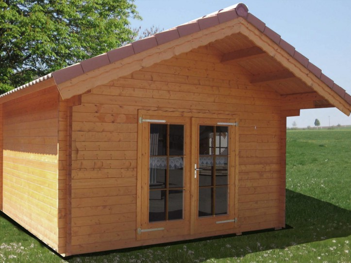 3-Raum Blockhaus