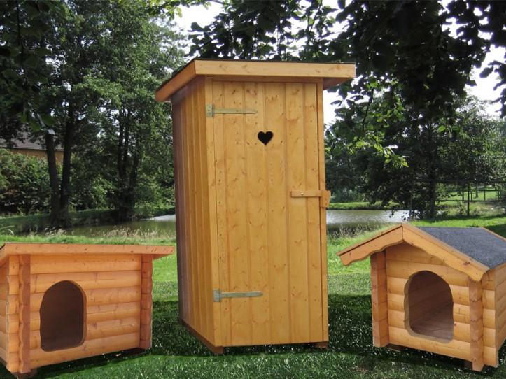 Hundehütten WC Haus