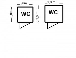 wc-Skizze